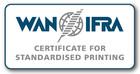 WAN-IFRA Zertifikat für standardisiertes Drucken